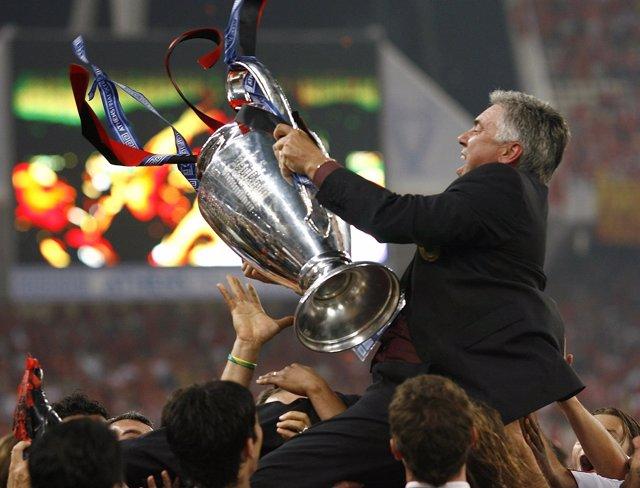 Ancelotti, ante su tercera 'Champions', quiere igualar al mítico Paisley