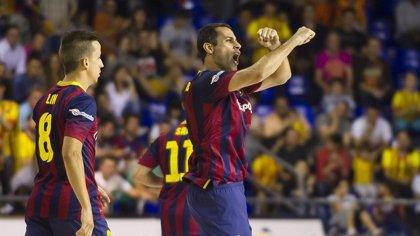 El Barça doblega a ElPozo en el primer envite de semifinales