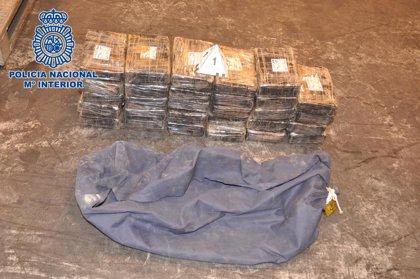 Desarticulada una organización dedicada al tráfico de drogas e intervenidos 276 kilos de cocaína