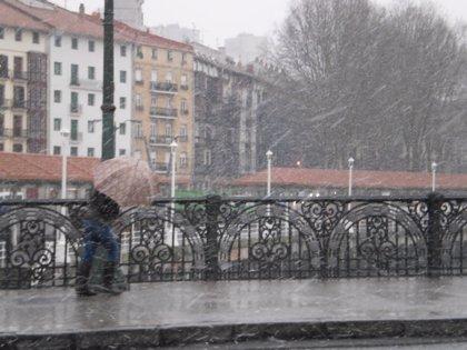 Precipitaciones intensas en Gipuzkoa y en el este de Álava