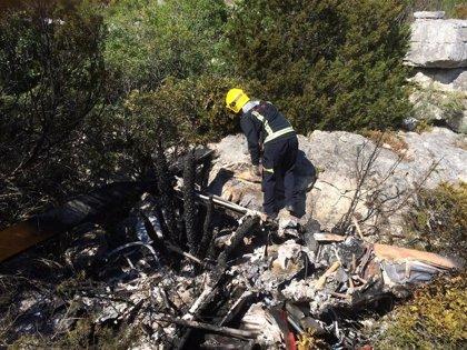 Fallece el piloto de un helicóptero al estrellarse contra un poste de alta tensión en Casares