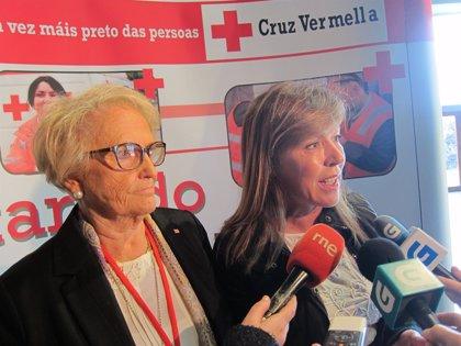 Unos 500 voluntarios de Cruz Roja Galicia participan en un encuentro multitudinario para reconocer su trabajo