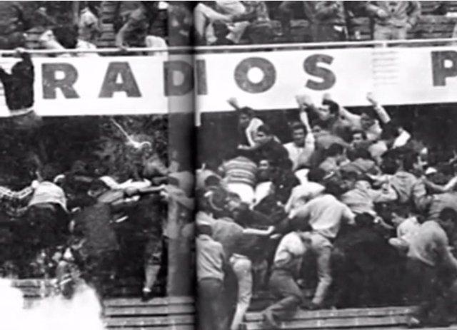Tragesdia Estadio Nacional 1964