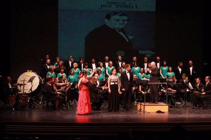 Almería.- Cultura.- La Banda Municipal repasa la vida y obra del Maestro Padilla en su concierto homenaje