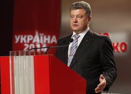 Poroshenko proclama su victoria en las elecciones ucranianas