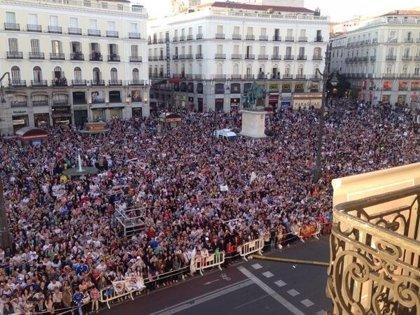 Sol, abarrotado para recibir al Real Madrid