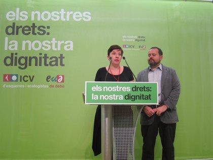 """ICV-EUiA expresa su """"indignación"""" por la prohibición del Multireferèndum"""