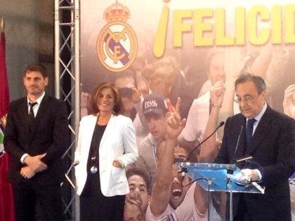 Botella agradece a Real Madrid que sea espejo de valores deportivos y que lo hagan con el nombre de la ciudad