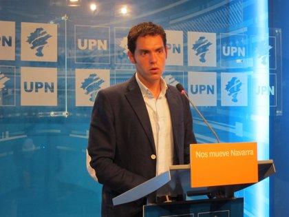"UPN: ""El desplome del PSN ha cedido el protagonismo a EH Bildu"""