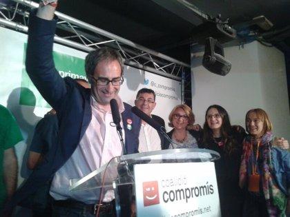 """Jordi Sebastià (Primavera Europea) dice que su elección es """"el primer aviso"""" de que """"comienza el cambio"""""""