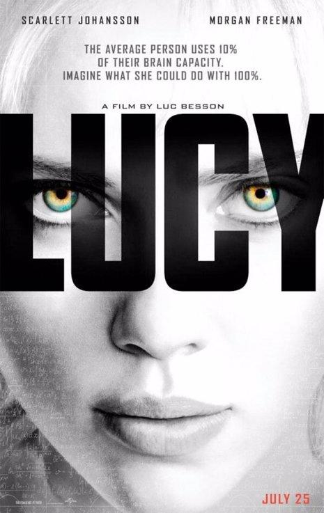 Nuevo poster de Lucy, con Scarlett Johansson