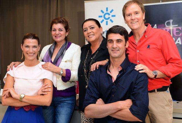 Presentación del nuevo programa de Canal Sur Televisión 'La suerte está echada'