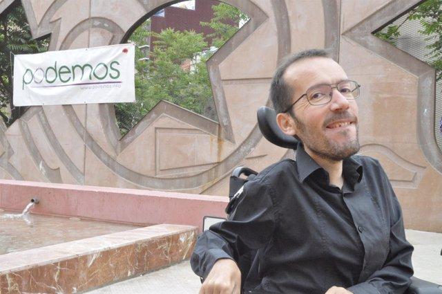 Pablo Echenique, eurodiputado de Podemos.
