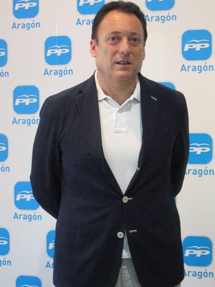 Octavio López (PP) se felicita por la incorporación de una parada en Zaragoza del AVE Madrid-Marsella
