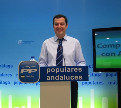 Moreno convoca este miércoles a la Junta Directiva del PP-A para analizar los resultados electorales