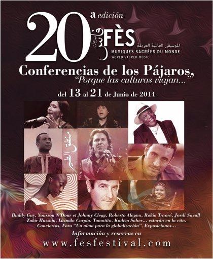 Jordi Savall participará en la 20 edición del Festival de Fes de las Músicas Sacras del Mundo
