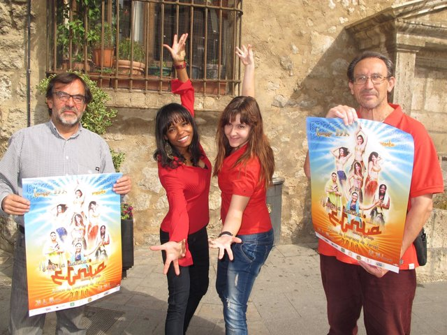 Presentación del espectáculo '¡Vive la danza!' en Teruel