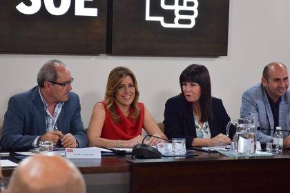 Díaz traslada a la Ejecutiva del PSOE-A que su prioridad es la Presidencia de la Junta