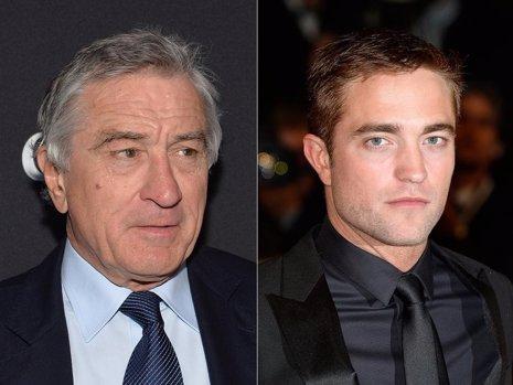 Robert De Niro y Robert Pattinson trabajarán juntos