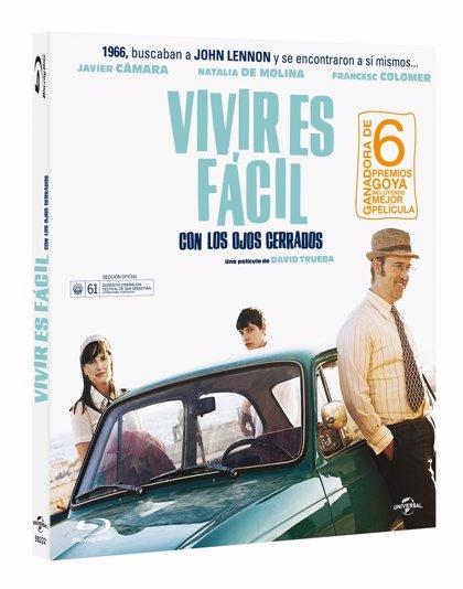 Sorteo: ¡Dos DVD de Vivir es fácil con los ojos cerrados firmados por David Trueba y Javier Cámara!