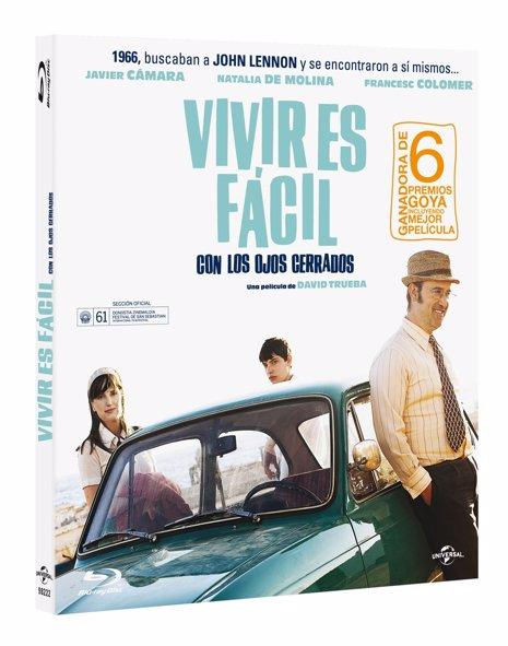 DVD de Vivir es fácil con los ojos cerrados
