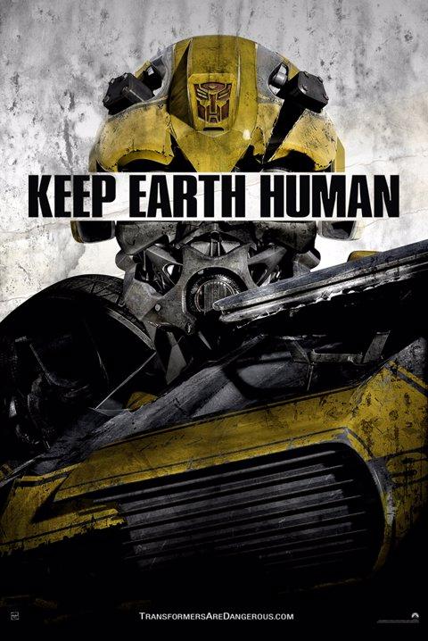 Transformers póster viral Bumblee