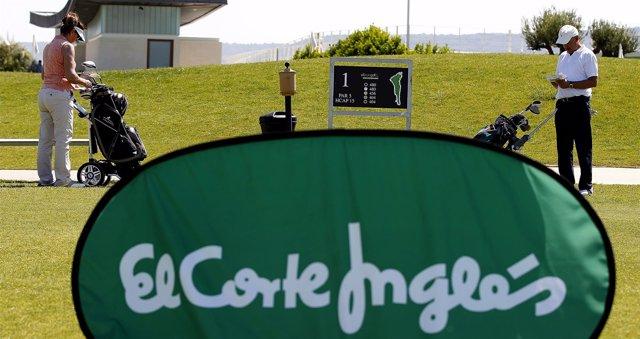Final del torneo de El Corte Inglés de golf