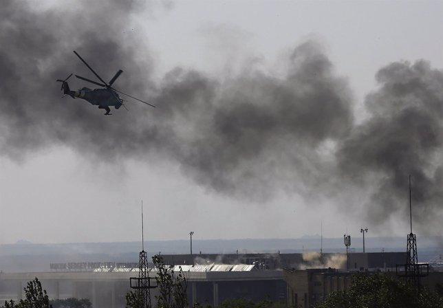 Helicóptero ucraniano