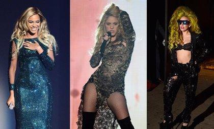 Beyoncé, Shakira o Lady Gaga, entre las 100 mujeres más poderosas