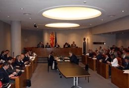 El pleno de la Diputación de Barcelona