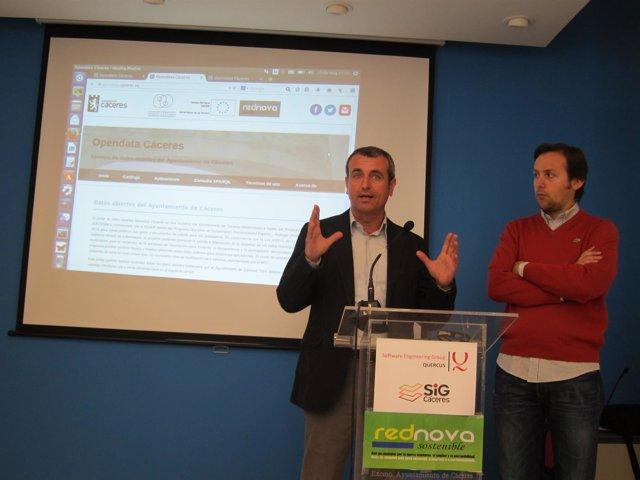 Presentación De Opendata En Cáceres