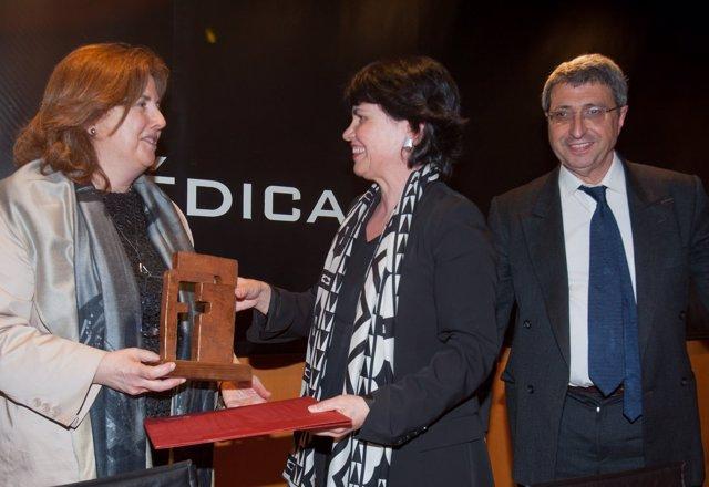 María Daniel Vaz De Almeida, Adela López De Cerain Y Alfredo Martínez.