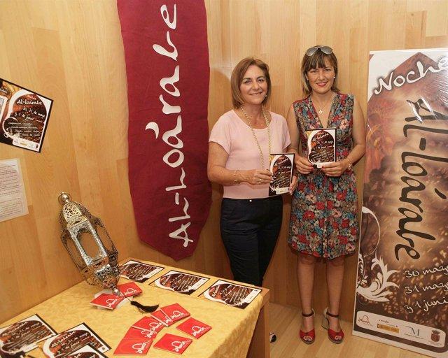 Diputada provincia Leonor García-Agua y Concejala turismo Álora Sonia Ramos