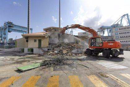 Comienzan las obras de la segunda fase de la remodelación del antiguo edificio del PIF del Puerto de Algeciras