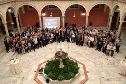RSC.-El presidente de Fundación Cajasol presenta por primera vez la Memoria de actividades y convenios de 2013 de la entidad
