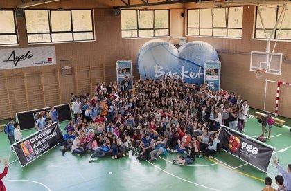 Jorge Garbajosa acude en Madrid al Programa Colegios Basket Lover 2014