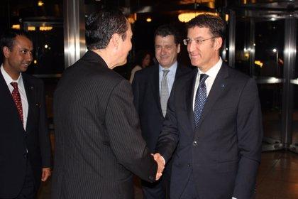 """Feijóo destaca en su llegada a Japón """"la oportunidad"""" que supone viajar al tercer país desde el punto de vista económico"""