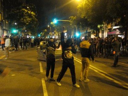 Cuarta noche de incidentes por el desalojo de Can Vies