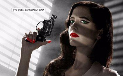 Eva Green, muy sexy en el nuevo cartel de Sin City: A Dame to Kill For