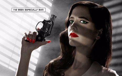 Eva Green en el nuevo póster de Sin City: A Dame to Kill For