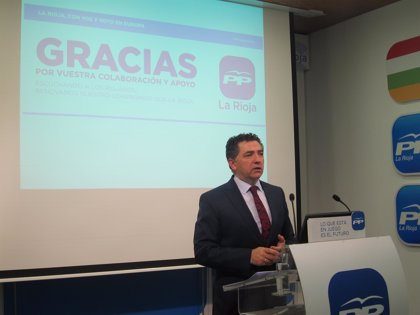 """Cuevas indica que el PP """"continuará trabajando por los ciudadanos"""" mientras que al PSOE """"le esperan meses convulsos"""""""