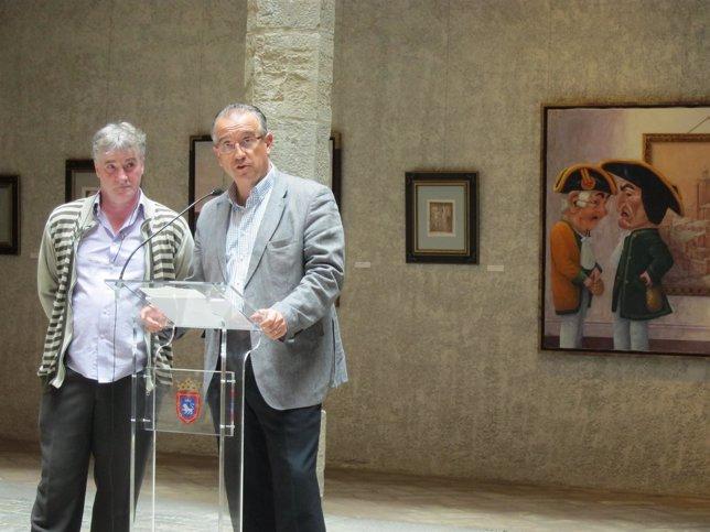 Antonio Laita y Enrique Maya.