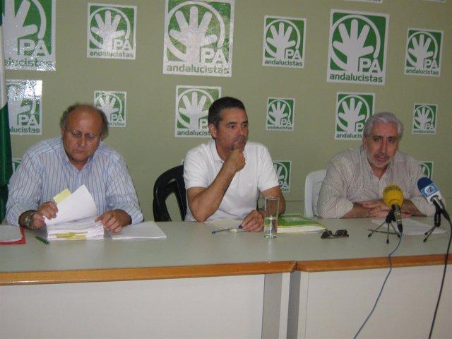 Integrantes del PA en Palma del Río