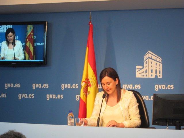Català en rueda de prensa tras el pleno del Consell
