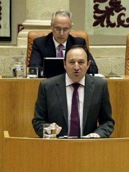 Pedro Sanz En El Parlamento
