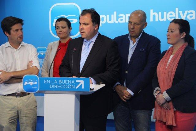 El alcalde de San Juan del Puerto (Huelva), Juan Carlos Duarte (PP).
