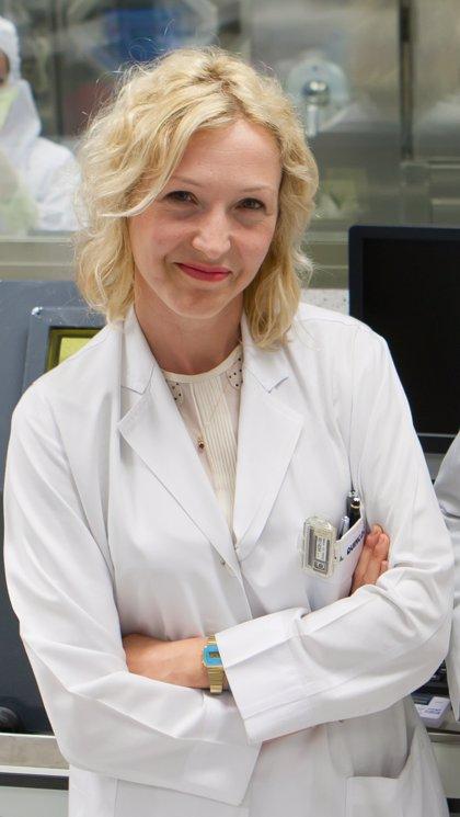 La especialista de la CUN Gemma Quincoces, presidenta de la Sociedad Española de Radiofarmacia