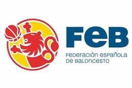 Logotipo de la Federación Española de Baloncesto