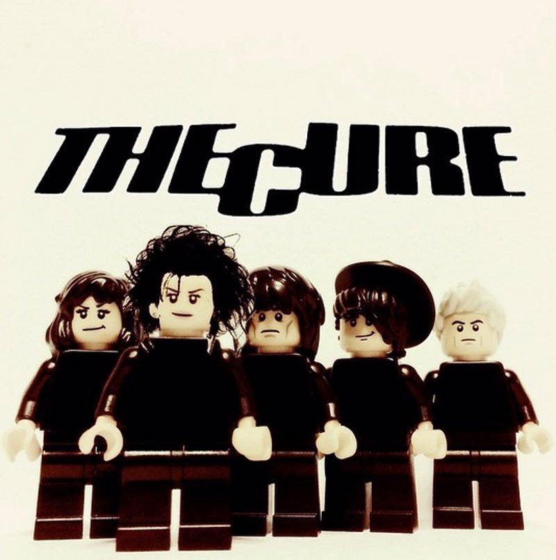 Grupos de rock en version Lego