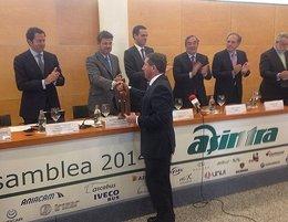 Apetam empresarios transporte asamblea anual de Asintra